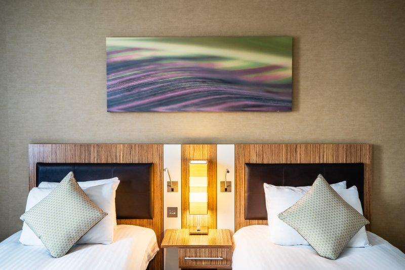 Holiday Inn Stevenage-2 Single Beds Guest Room <br/>Image from Leonardo