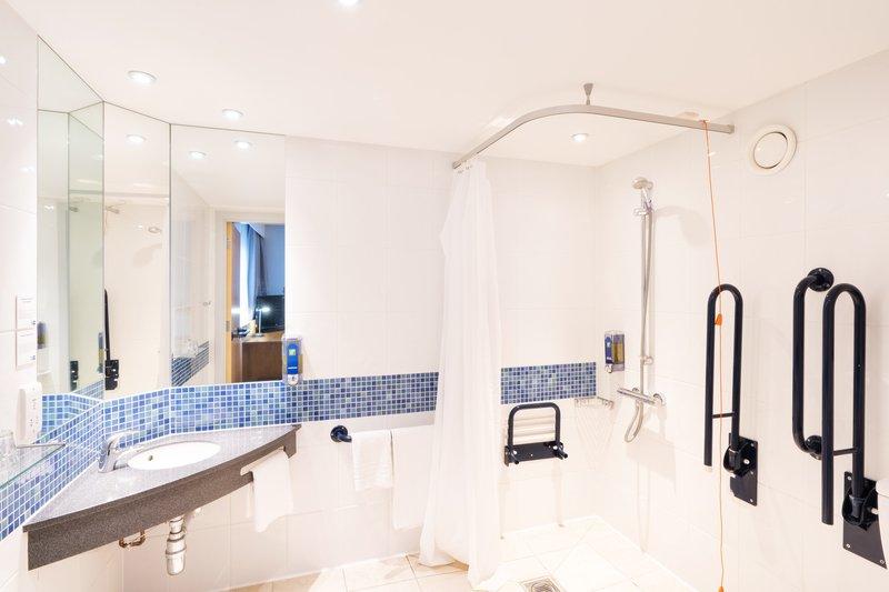 Holiday Inn Express Dundee-Accessible Bathroom<br/>Image from Leonardo