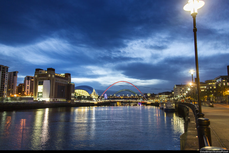 Holiday Inn Express Newcastle City Centre-the Quayside is only 13-mins away from our Newcastle hotel <br/>Image from Leonardo
