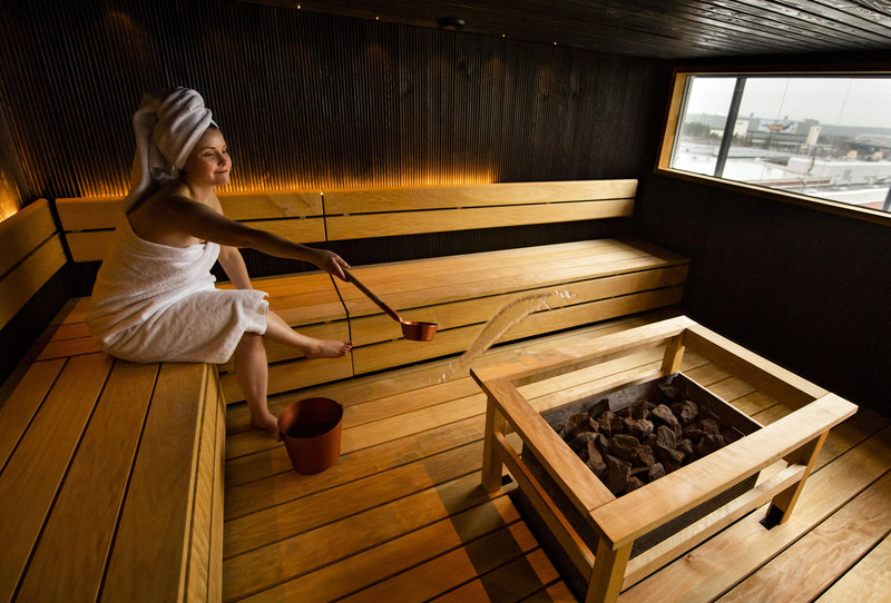 Holiday Inn Helsinki - Exhibition & Convention Centre-Enjoy our Finnish Sauna - Book a private or use hotel guests sauna<br/>Image from Leonardo