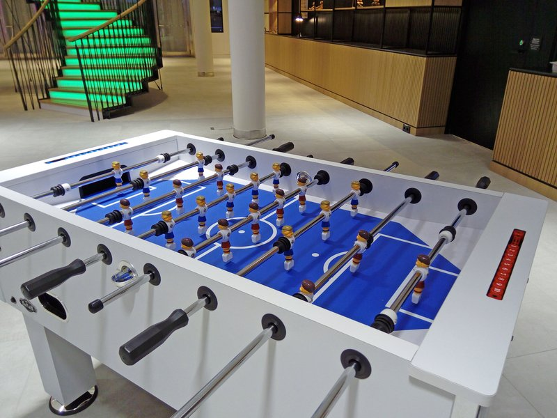 Holiday Inn Helsinki - Exhibition & Convention Centre-Challenge your friend for a football game at our Open Lobby<br/>Image from Leonardo