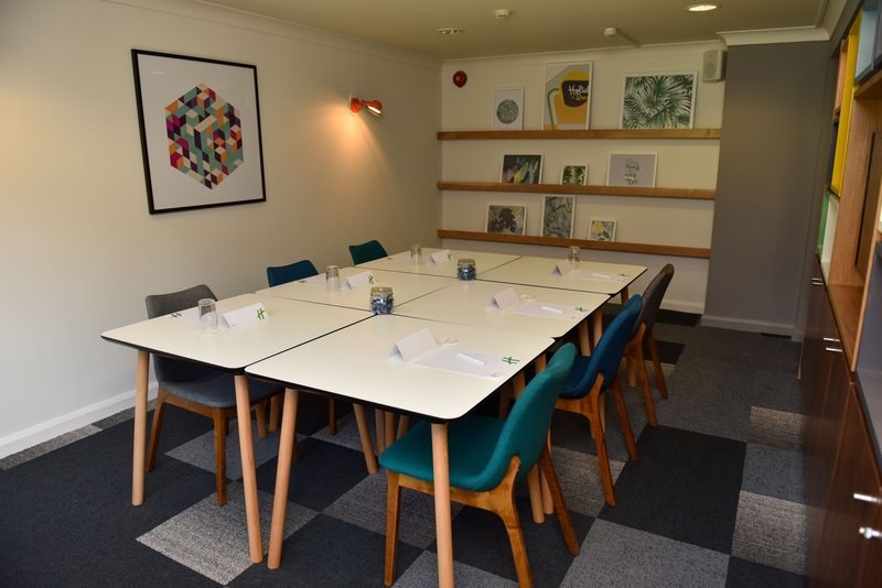 Holiday Inn A55 Chester West-Clwyd Meeting Room <br/>Image from Leonardo