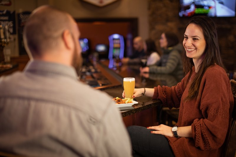 Holiday Inn West Yellowstone-The Branch Bar; Open daily, 11:30 AM - 8:00 PM<br/>Image from Leonardo