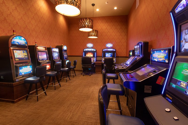 Holiday Inn West Yellowstone-Branch Bar Casino; Open daily, 11:30 AM - 8:00 PM<br/>Image from Leonardo
