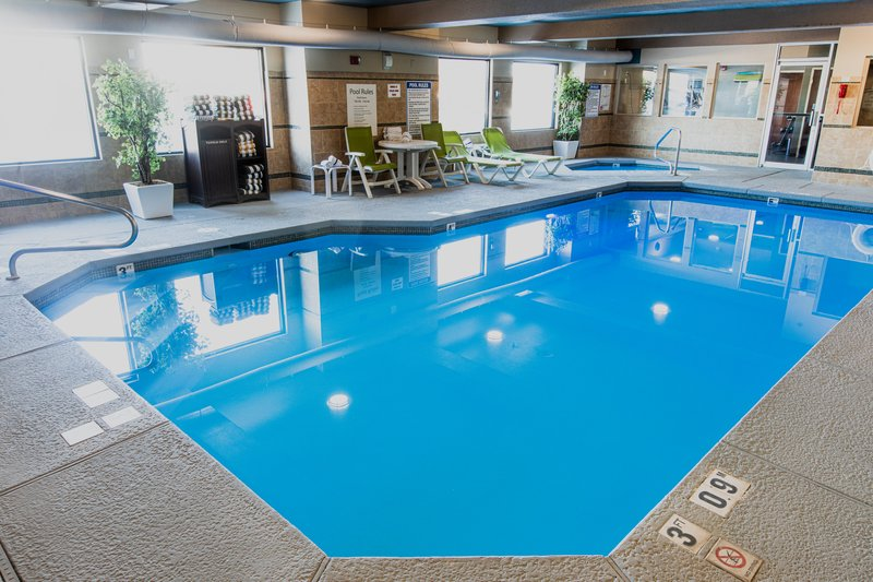 Holiday Inn West Yellowstone-Indoor heated swimming pool: Open daily, 7:00 AM - 11:00 PM<br/>Image from Leonardo