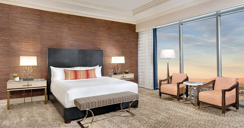 Mandalay Bay Resort and Casino-Reef Suite Bed<br/>Image from Leonardo