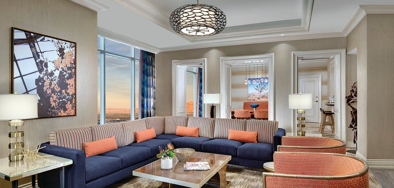 Mandalay Bay Resort and Casino-Reef Suite Sofa<br/>Image from Leonardo