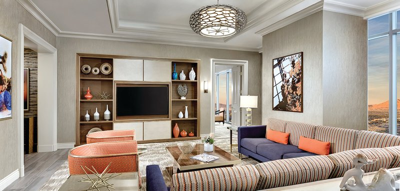 Mandalay Bay Resort and Casino-Reef Suite TV<br/>Image from Leonardo