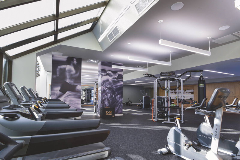Montreal Marriott Chateau Champlain-Fitness Center - Cardio Machines<br/>Image from Leonardo