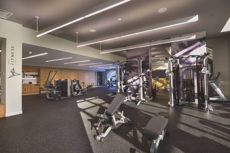Montreal Marriott Chateau Champlain-Fitness Center - Weights<br/>Image from Leonardo
