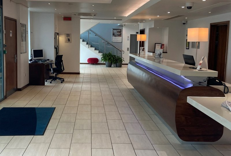 Holiday Inn Express Burnley M65, Jct.10-Hotel Lobby<br/>Image from Leonardo