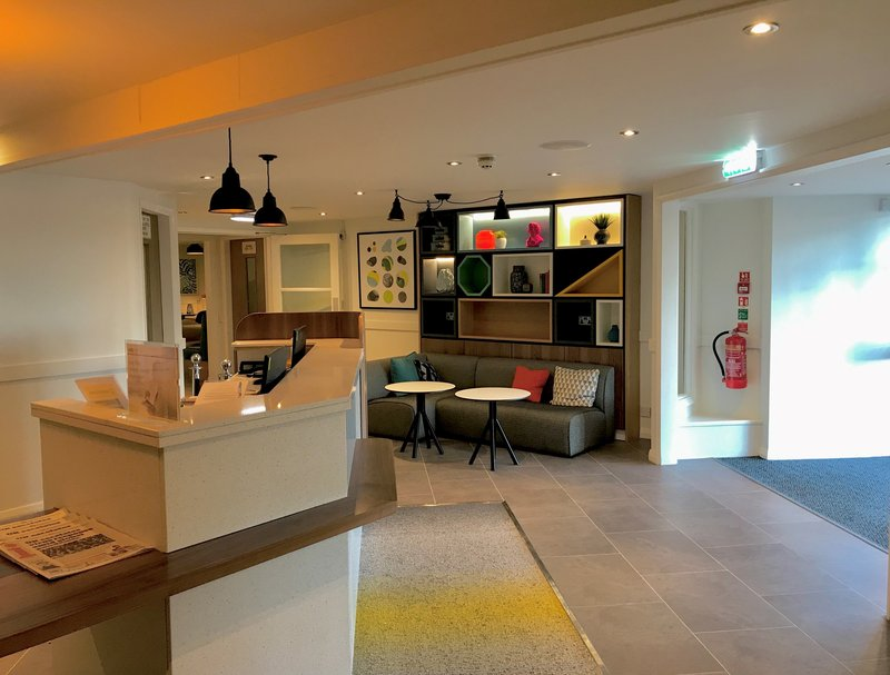 Holiday Inn A55 Chester West-Reception area <br/>Image from Leonardo