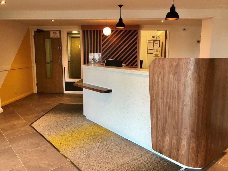 Holiday Inn A55 Chester West-Reception Desk <br/>Image from Leonardo