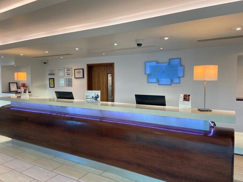 Holiday Inn Express Burnley M65, Jct.10-Front Desk<br/>Image from Leonardo