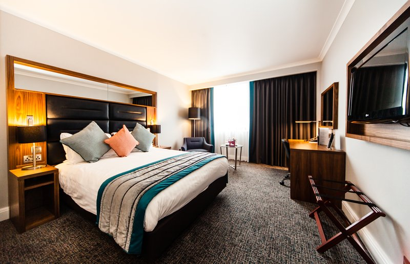 Crowne Plaza Leeds-Double Bed Guest Room<br/>Image from Leonardo