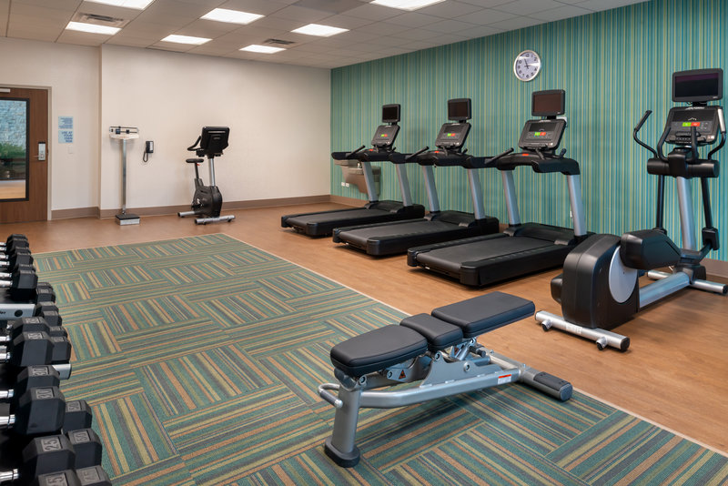 Holiday Inn Express And Suites Romeoville - Joliet North-Keep in shape with our state of the art fitness center.<br/>Image from Leonardo