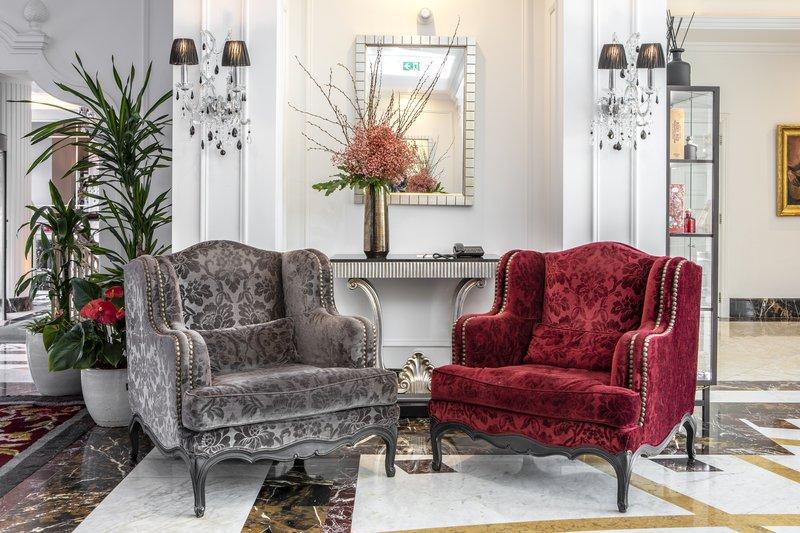 Intercontinental Porto - Palacio das Cardosas-Lobby Lounge <br/>Image from Leonardo