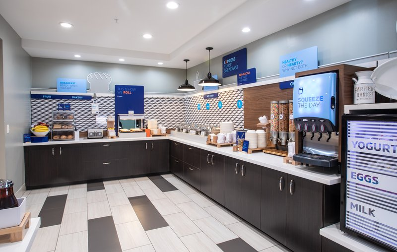 Holiday Inn Express Prescott-Juice, Yogurt, Hard Cooked Eggs & Milk - We have you covered!<br/>Image from Leonardo