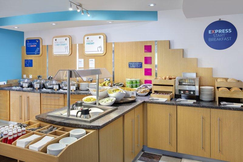Holiday Inn Express Poole-Breakfast Buffet<br/>Image from Leonardo