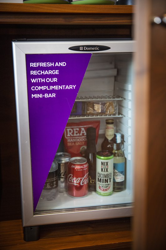 Amba Charing Cross-Suite Complimentary Mini Bar<br/>Image from Leonardo