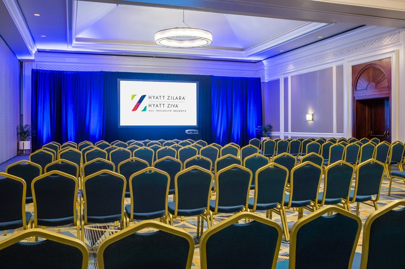 Hyatt Zilara Rose Hall-Meetings Ballroom Theatre Setup<br/>Image from Leonardo