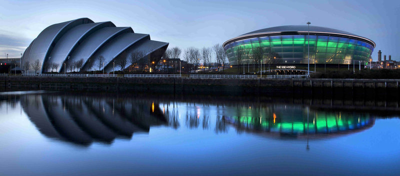 Holiday Inn Express Glasgow - City Centre Riverside-Off to a show at the SSE Hydro? We're a short drive away!<br/>Image from Leonardo