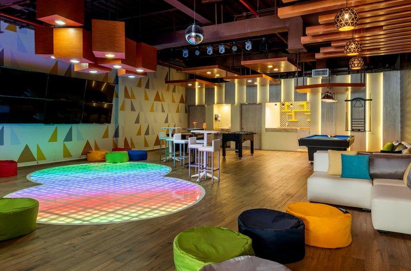 Hyatt Ziva Cancun  - Moods Teen Club <br/>Image from Leonardo