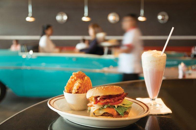 Hyatt Ziva Cancun  - Chevy's Burger And Shake <br/>Image from Leonardo