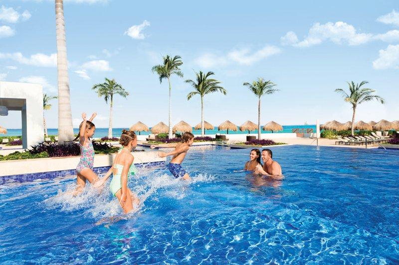 Hyatt Ziva Cancun  - Hyatt Ziva Cancun Pool Family Fun <br/>Image from Leonardo