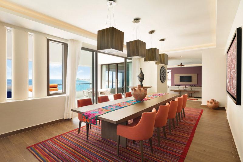 Hyatt Ziva Cancun  - Presidential Suite Dining Area <br/>Image from Leonardo