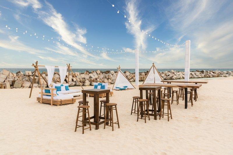 Hyatt Ziva Cancun  - Beach Weddings Setup <br/>Image from Leonardo