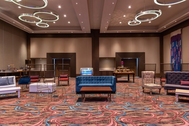 Hyatt Ziva Cancun  - Meetings Agua Fuego Ballroom Set Up <br/>Image from Leonardo