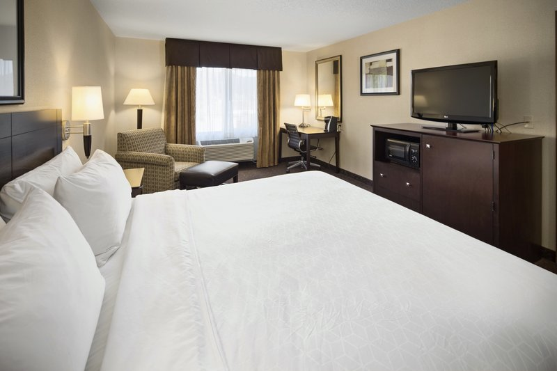 Holiday Inn Express & Suites Hill City Mt. Rushmore Area-One king bed<br/>Image from Leonardo