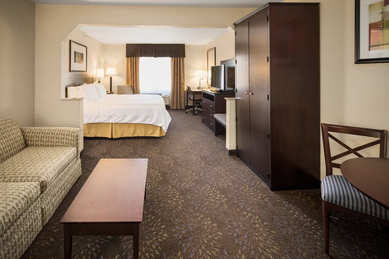 Holiday Inn Express & Suites Hill City Mt. Rushmore Area-One king bed, sofa/bed, wetbar<br/>Image from Leonardo