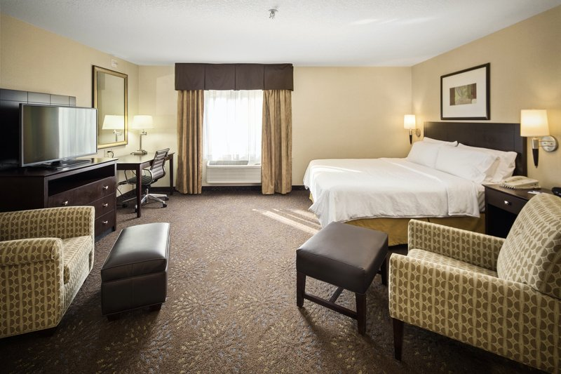 Holiday Inn Express & Suites Hill City Mt. Rushmore Area-One king bed whirlpool suite<br/>Image from Leonardo