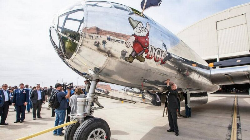 Candlewood Suites Wichita-Airport-DOC's home is open for viewing this aircraft history<br/>Image from Leonardo