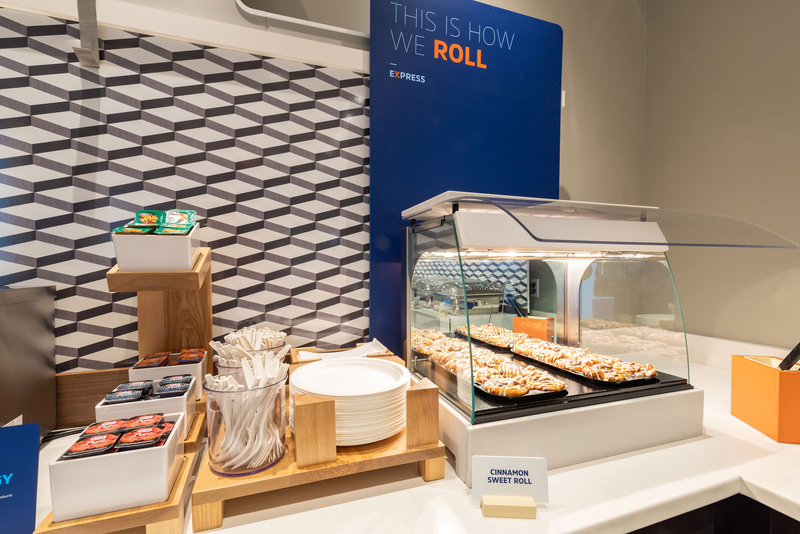 Holiday Inn Express & Suites Seaside - Convention Center-You had me at cinnamon! Free Fresh HOT Signature Cinnamon Rolls!<br/>Image from Leonardo