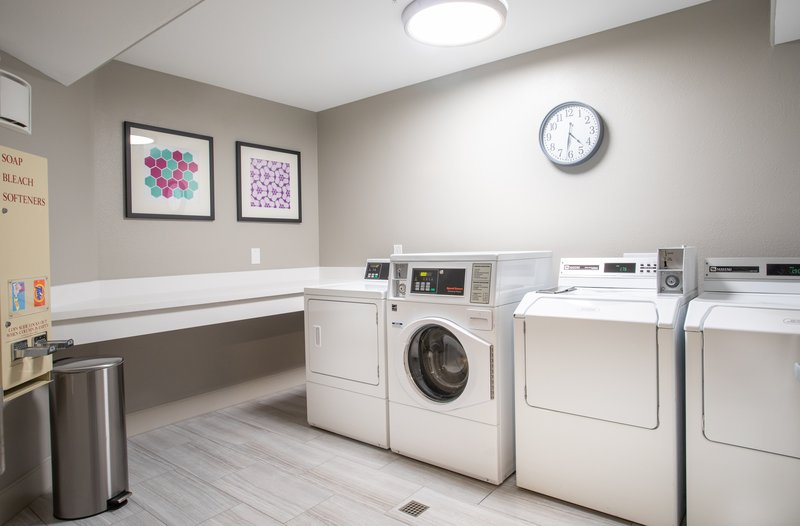 Holiday Inn Express Prescott-Laundry Facility<br/>Image from Leonardo