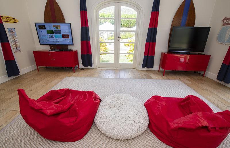 Young  Island  Resort-Kids & Teens Club Media Room<br/>Image from Leonardo