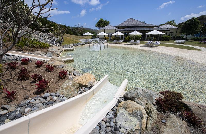 Young  Island  Resort-Kids & Teens Club Toddler Slide & Pool<br/>Image from Leonardo