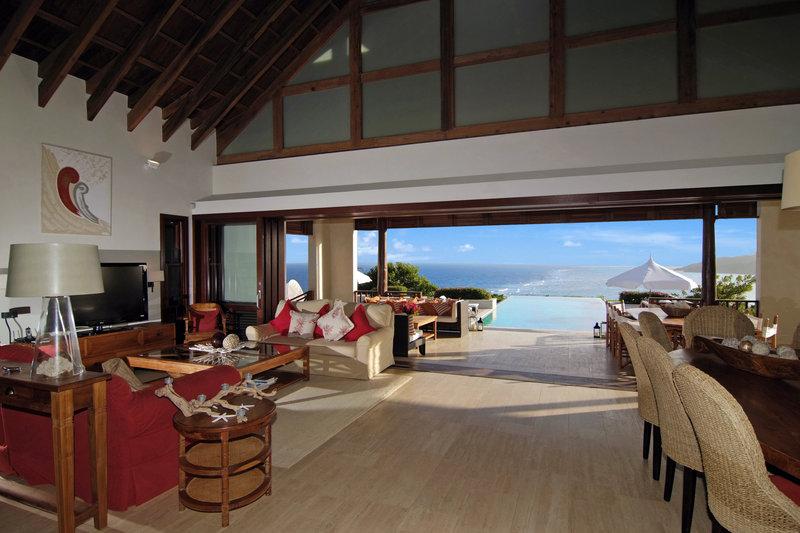 Young  Island  Resort-Beach House Five Bedroom Villa Living Room<br/>Image from Leonardo
