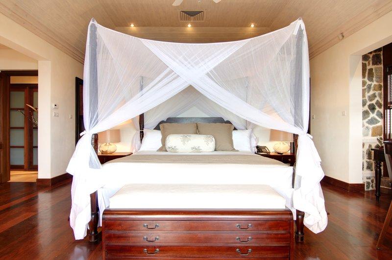 Young  Island  Resort-Big Blue Ocean Five Bedroom Villa Bedroom<br/>Image from Leonardo