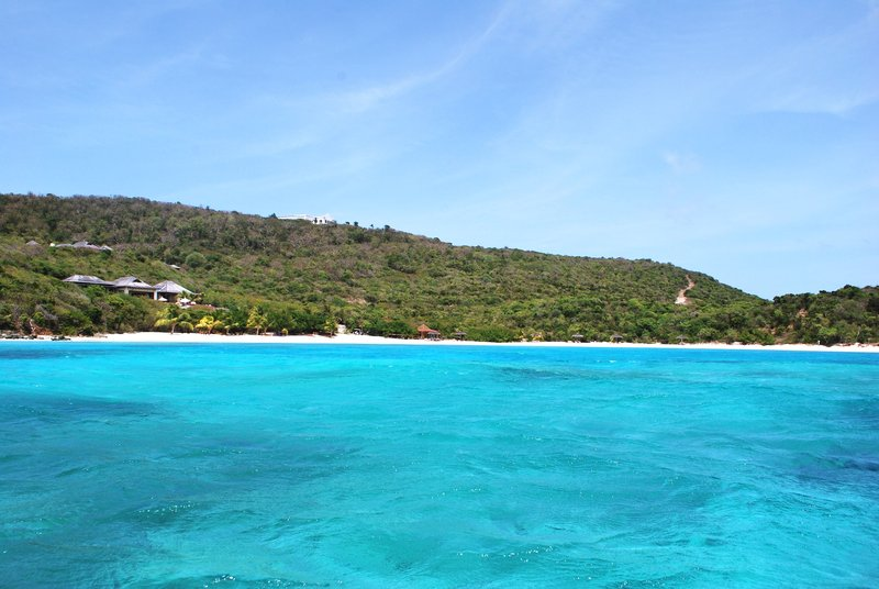 Young  Island  Resort-Big Blue Ocean Five Bedroom Villa View from Veranda<br/>Image from Leonardo