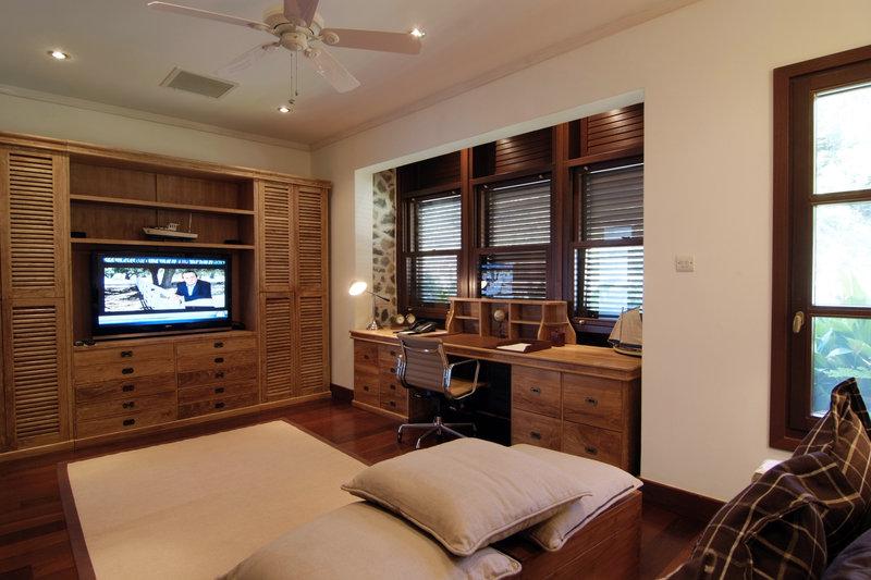 Young  Island  Resort-Big Blue Ocean Five Bedroom Villa Study<br/>Image from Leonardo