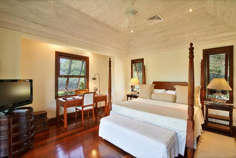 Young  Island  Resort-Canoten Four Bedroom Villa Cottage Bedroom<br/>Image from Leonardo