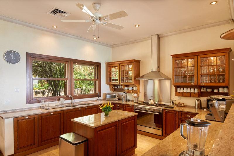 Young  Island  Resort-Canoten Four Bedroom Villa Kitchen<br/>Image from Leonardo