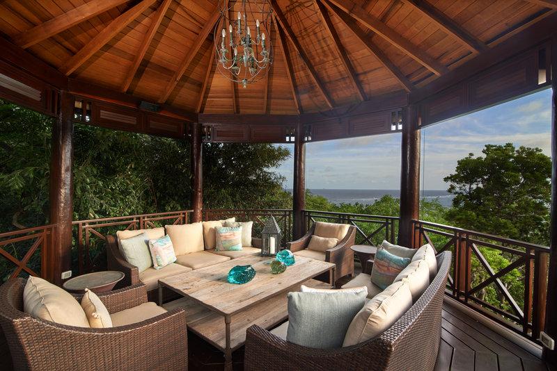 Young  Island  Resort-Canoten Four Bedroom Villa Gazebo<br/>Image from Leonardo