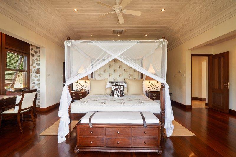 Young  Island  Resort-Canoten Four Bedroom Villa Master Bedroom<br/>Image from Leonardo