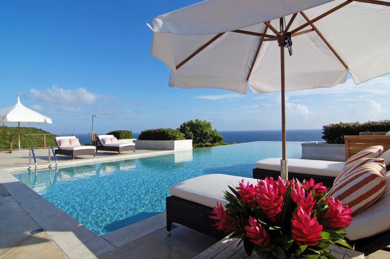 Young  Island  Resort-Canoten Four Bedroom Villa Pool<br/>Image from Leonardo