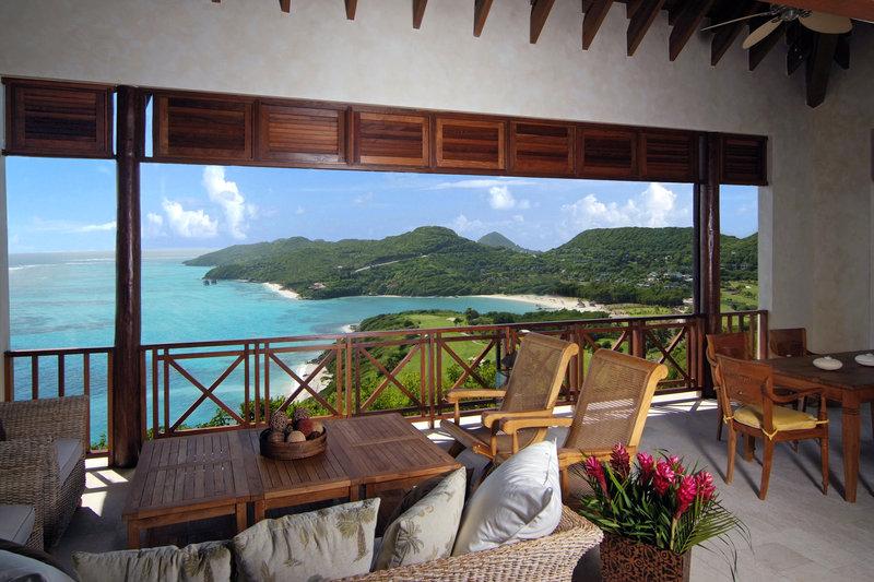 Young  Island  Resort-Canoten Four Bedroom Villa Terrace<br/>Image from Leonardo